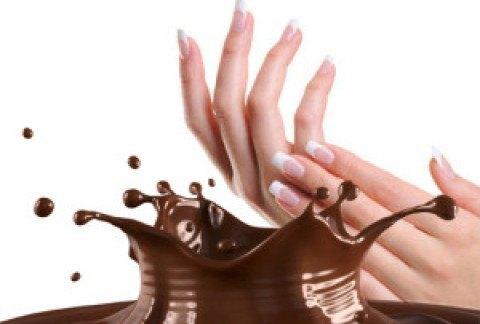 Chocolaterapia gratis en tu salón uñas.