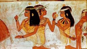 Manicura en el antiguo Egipto