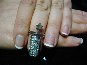 Anillos especiales para uñas