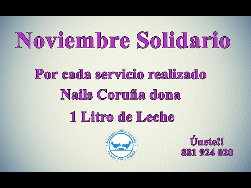 Campaña Solidaria en Nails Coruña