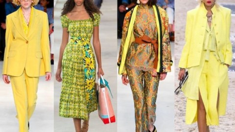 Colores tendencia primavera verano 2019