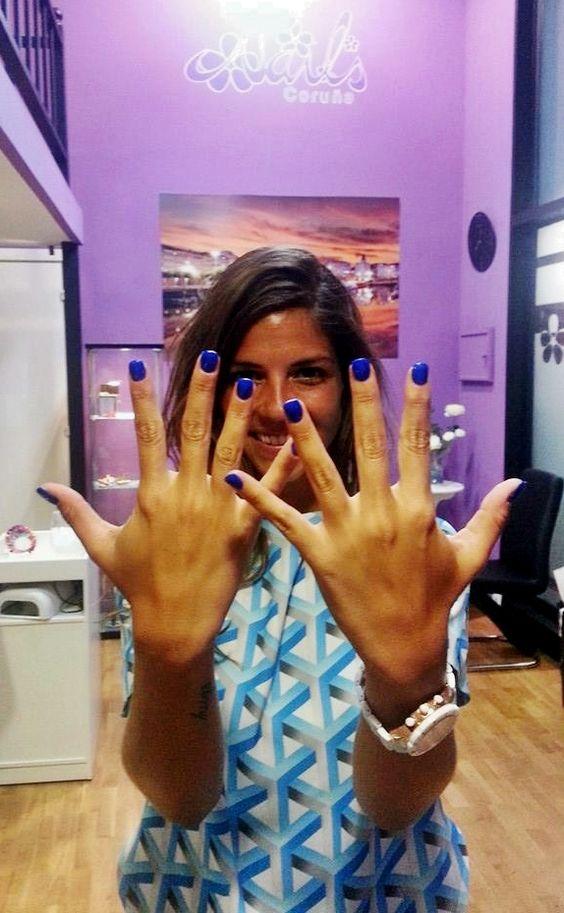 Natalia Cabezas @trendytaste en Nails Coruña